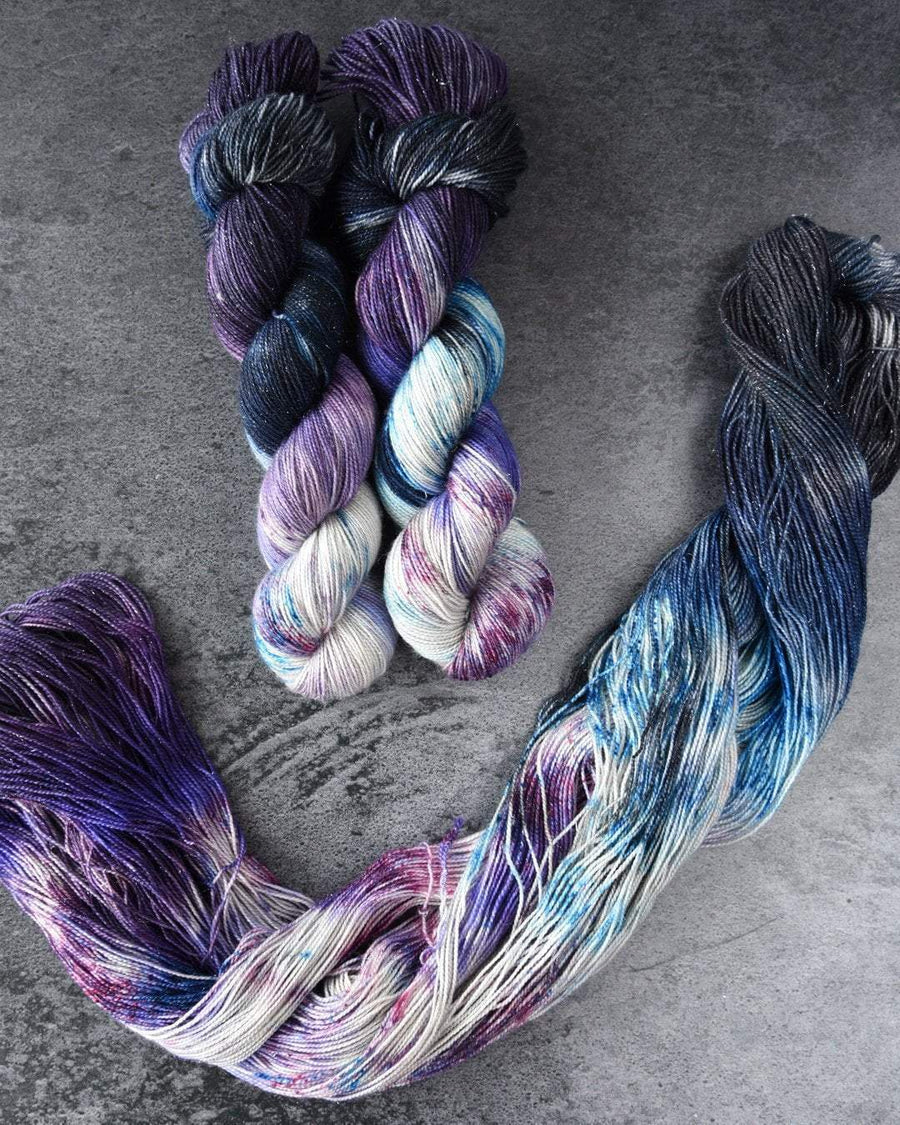 Destination Yarn fingering weight yarn Adler Planetarium - dyed to order