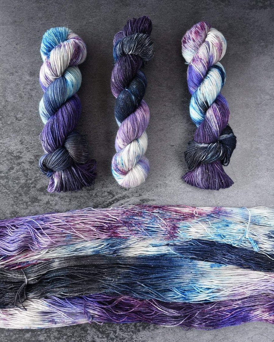 Destination Yarn fingering weight yarn Adler Planetarium Set