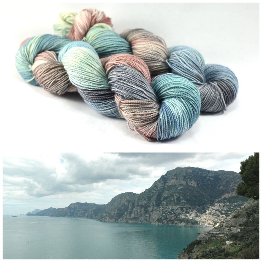 Destination Yarn fingering weight yarn AMALFI COAST