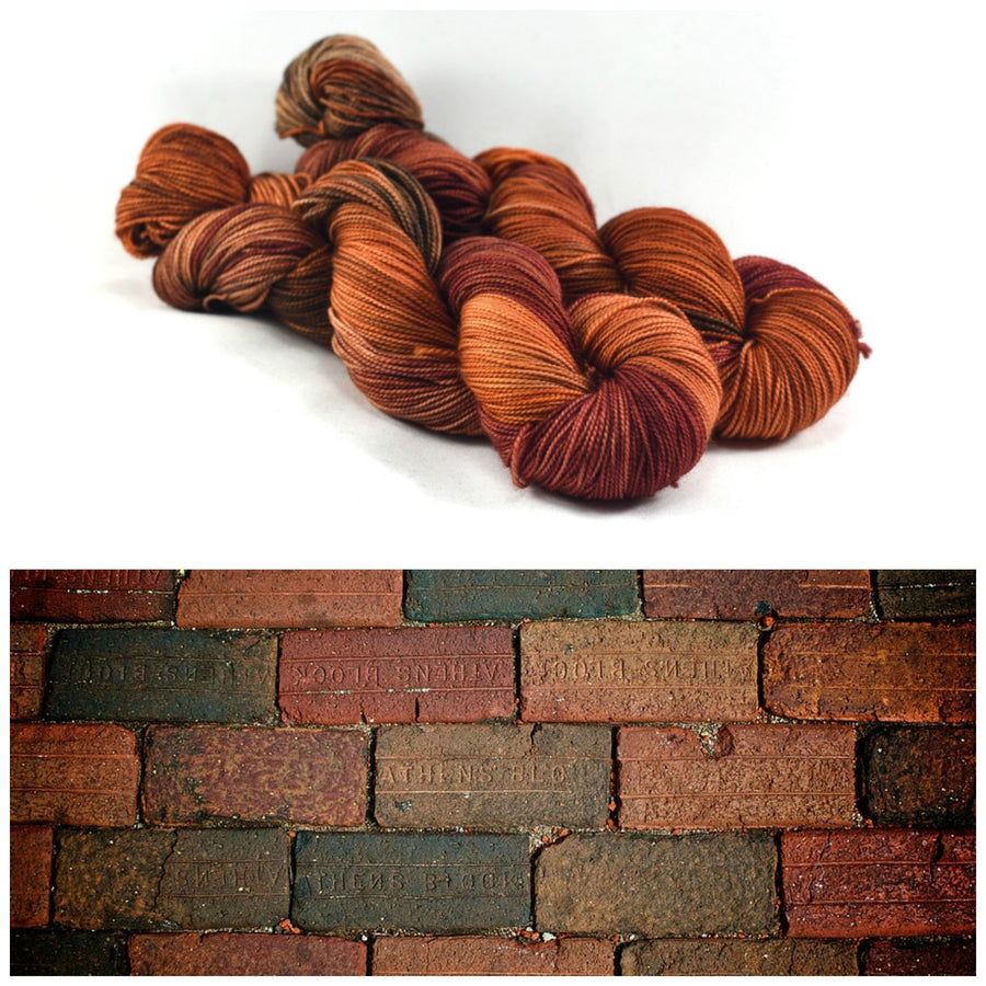 Destination Yarn fingering weight yarn ATHENS BRICKS
