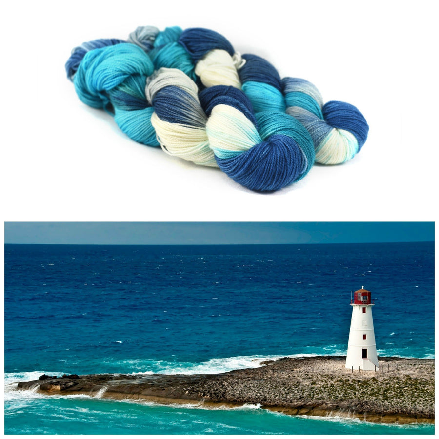 Destination Yarn fingering weight yarn BAHAMAS