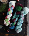 Destination Yarn fingering weight yarn Bright and Fun Holiday 2020 Set