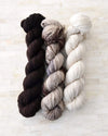 Destination Yarn fingering weight yarn Cobblestone Square - dyed to order