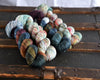 Destination Yarn fingering weight yarn Fall at the Lake
