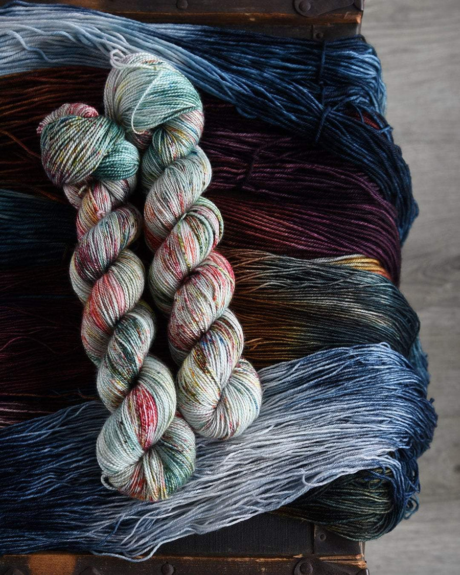 Destination Yarn fingering weight yarn Fall Reflections