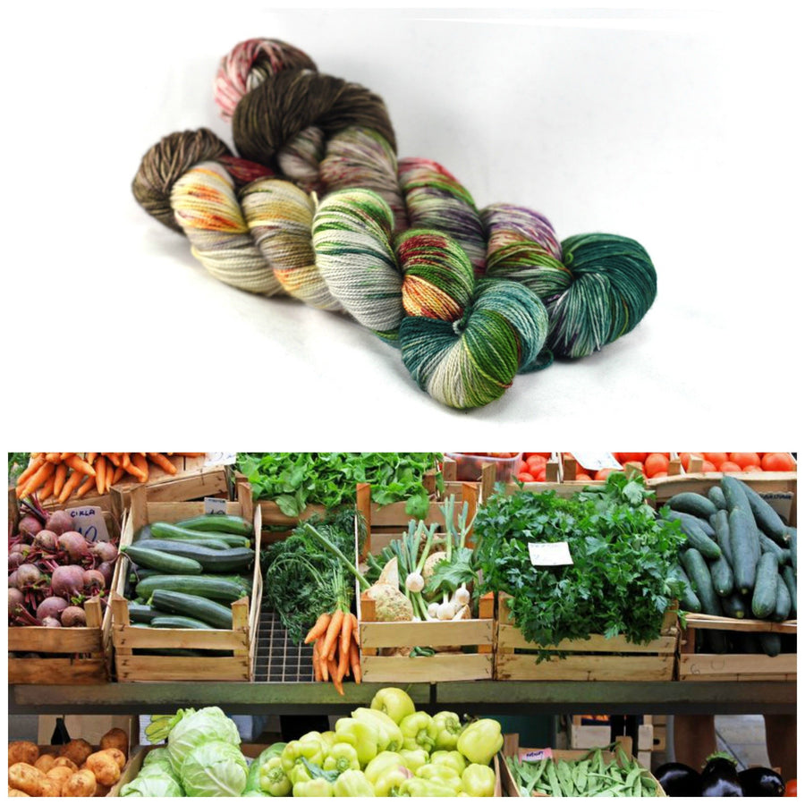 Destination Yarn fingering weight yarn FARM STAND
