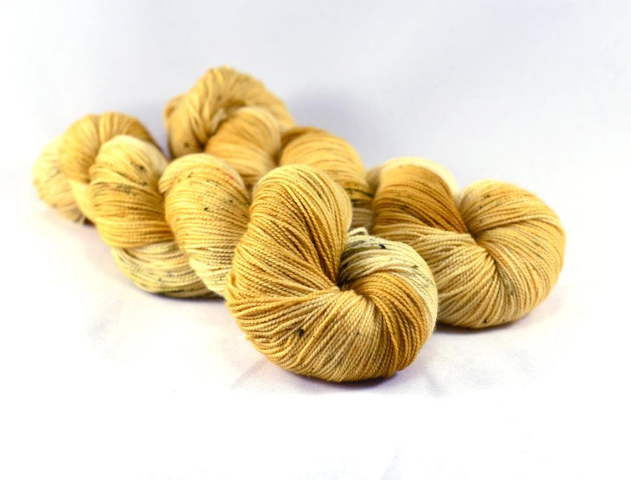 Destination Yarn fingering weight yarn Fried Cheese Curds