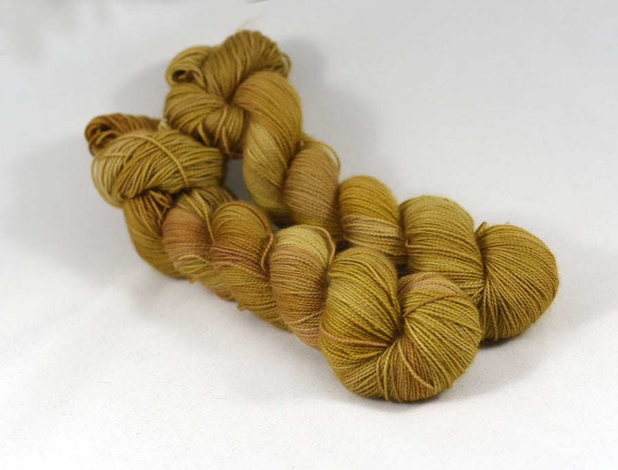 Destination Yarn fingering weight yarn Gilded