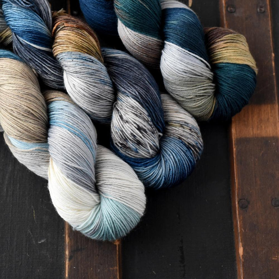 Destination Yarn fingering weight yarn GREAT LAKES FADE KIT PREORDER