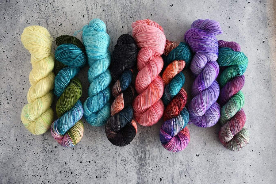 Destination Yarn fingering weight yarn Hawai'i Collection - Full Skein Set