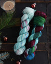 Destination Yarn fingering weight yarn Hawaiian Christmas