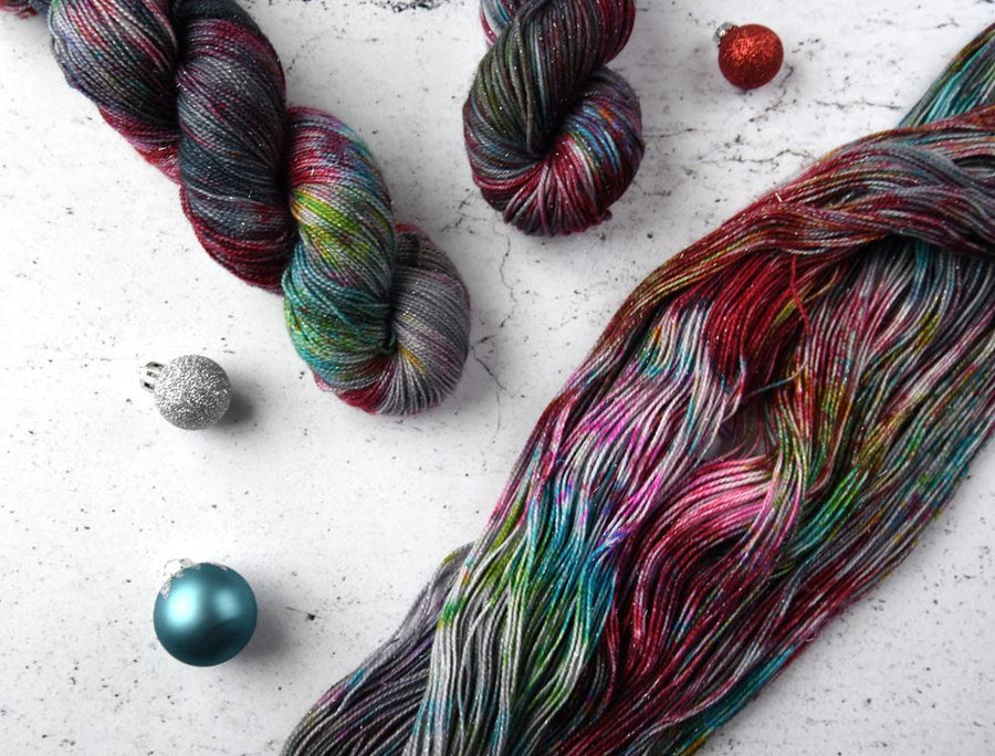 Destination Yarn fingering weight yarn Holiday 2018 Collection - CLASSIC COLORWAYS SET