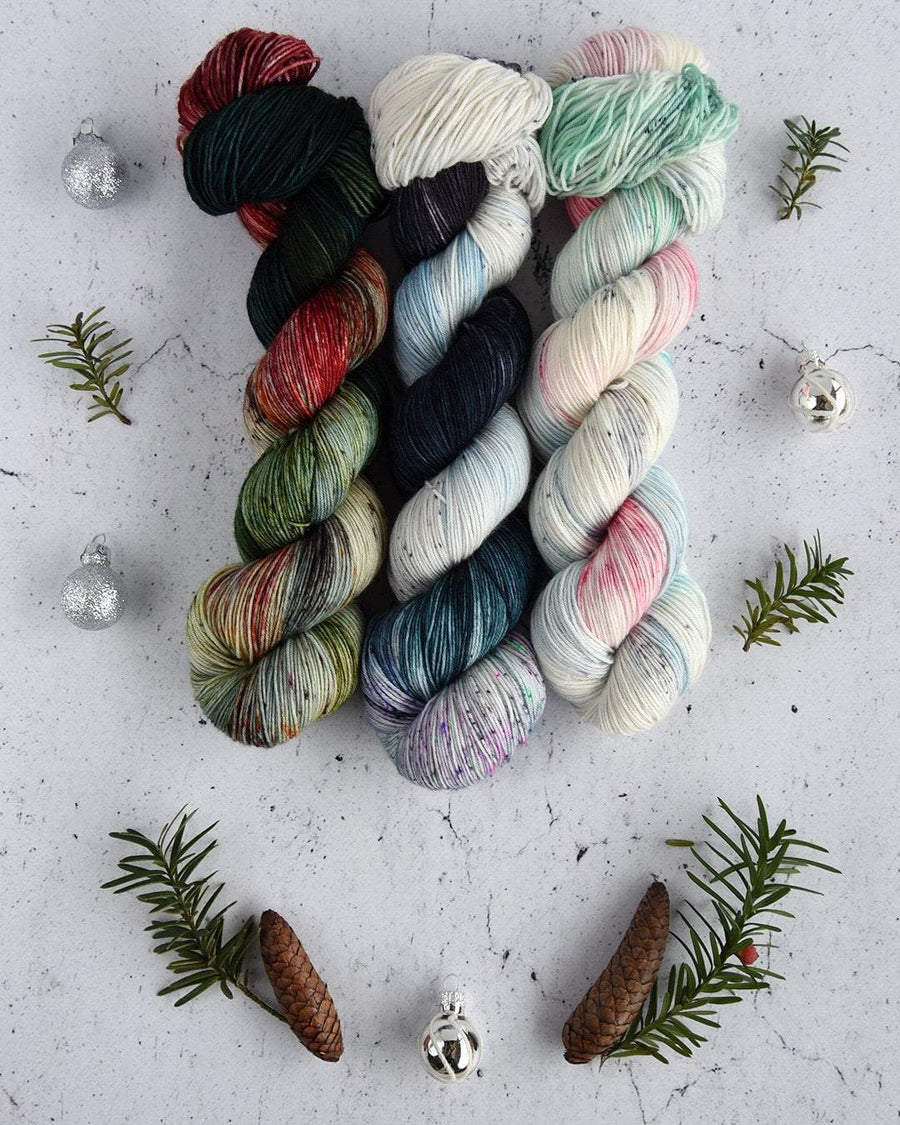 Destination Yarn fingering weight yarn Holiday 2018 Collection - NEW COLORWAYS SET
