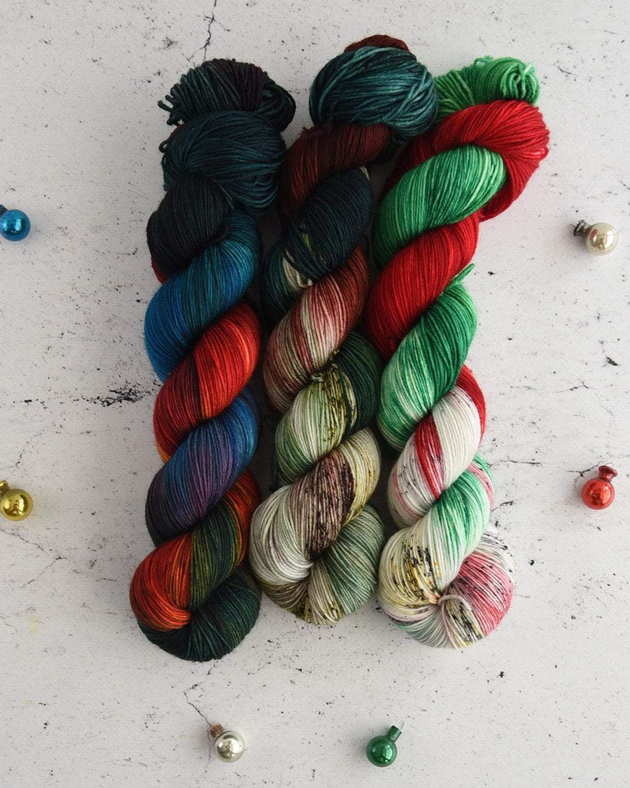 Destination Yarn fingering weight yarn Holiday 2020 Collection - CLASSIC COLORWAYS SET