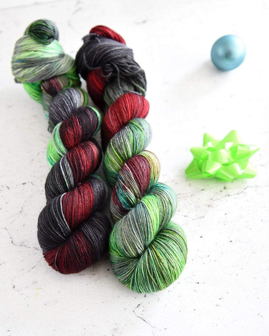 Destination Yarn fingering weight yarn Holiday 2019 Collection - NEW COLORWAYS SET
