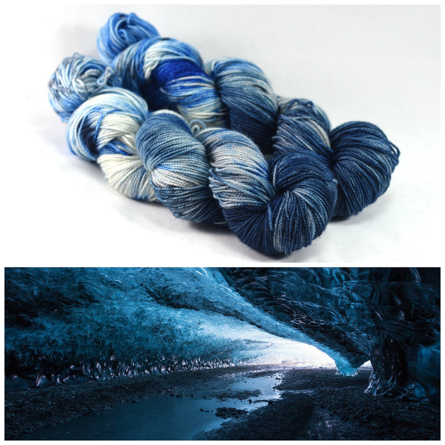 Destination Yarn fingering weight yarn ICE CAVE