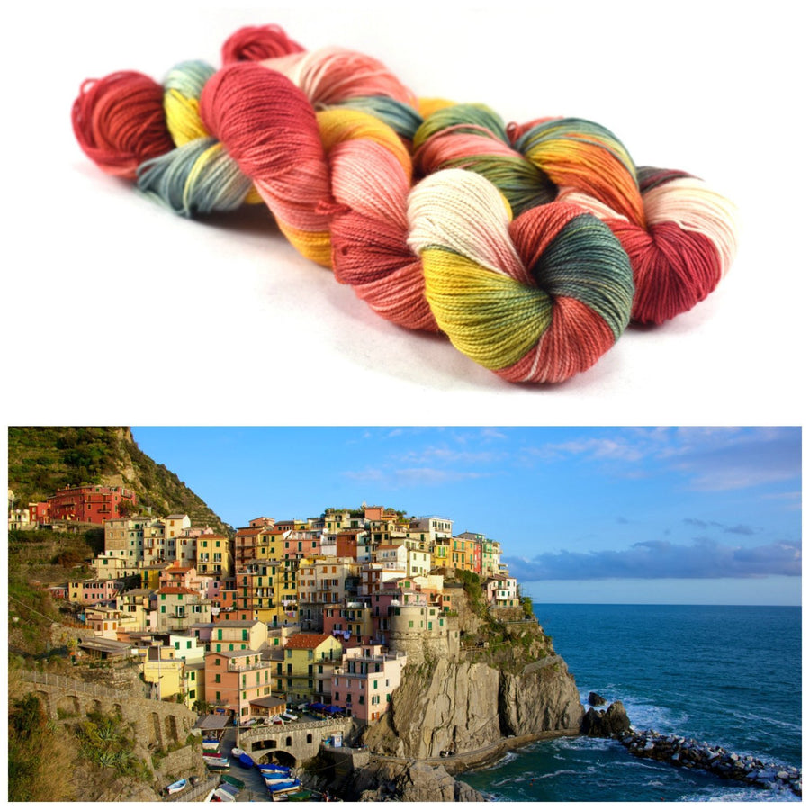 Destination Yarn fingering weight yarn ITALIAN RIVIERA
