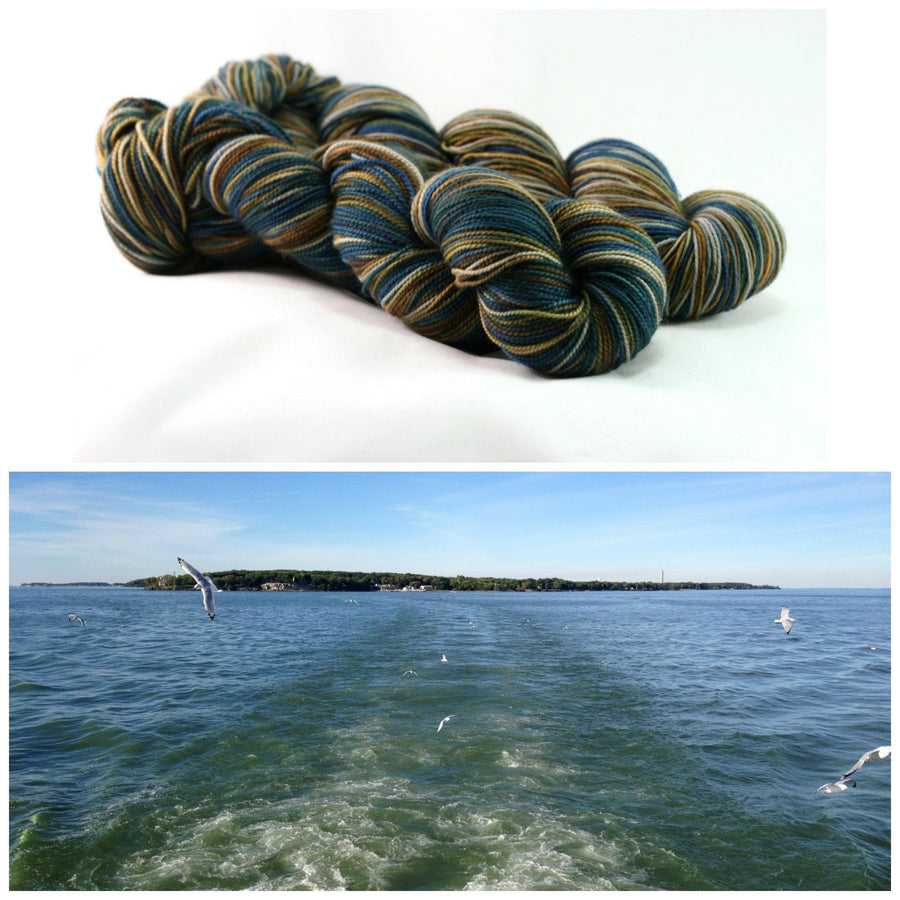 Destination Yarn fingering weight yarn LAKE ERIE