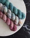 Destination Yarn fingering weight yarn Mercury Set - DYED TO ORDER
