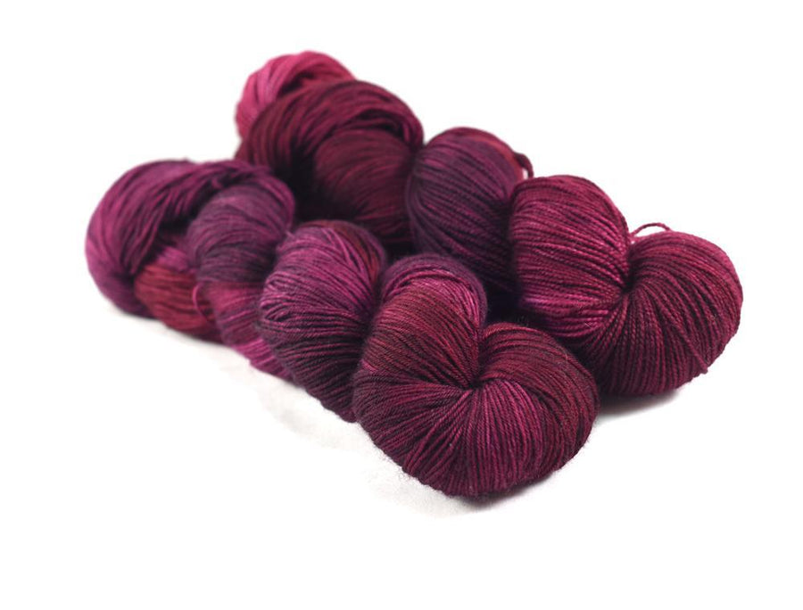 Destination Yarn fingering weight yarn Napa Red - Preorder