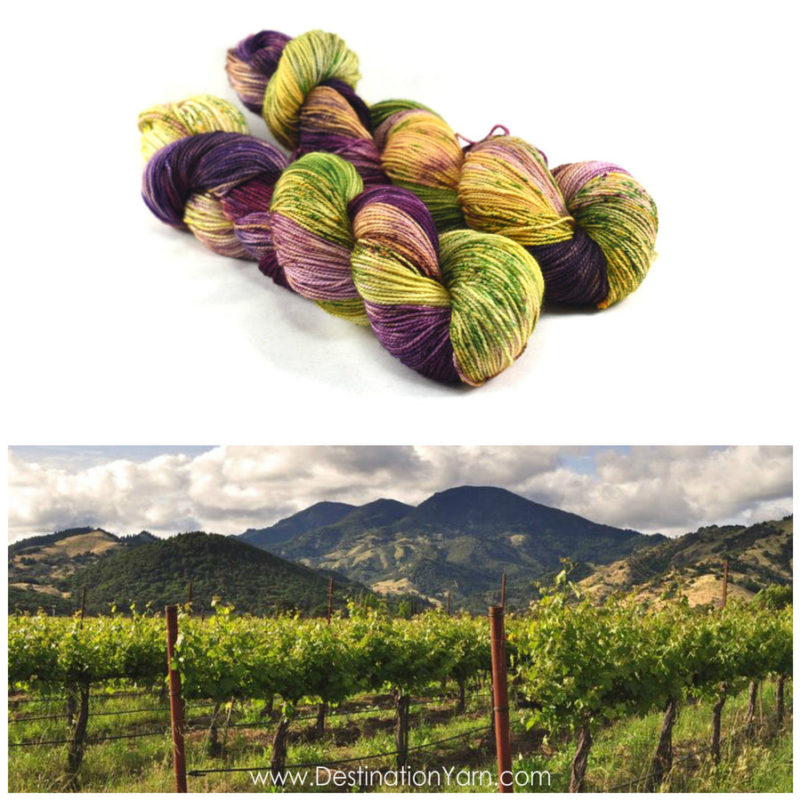 Destination Yarn fingering weight yarn NAPA VALLEY