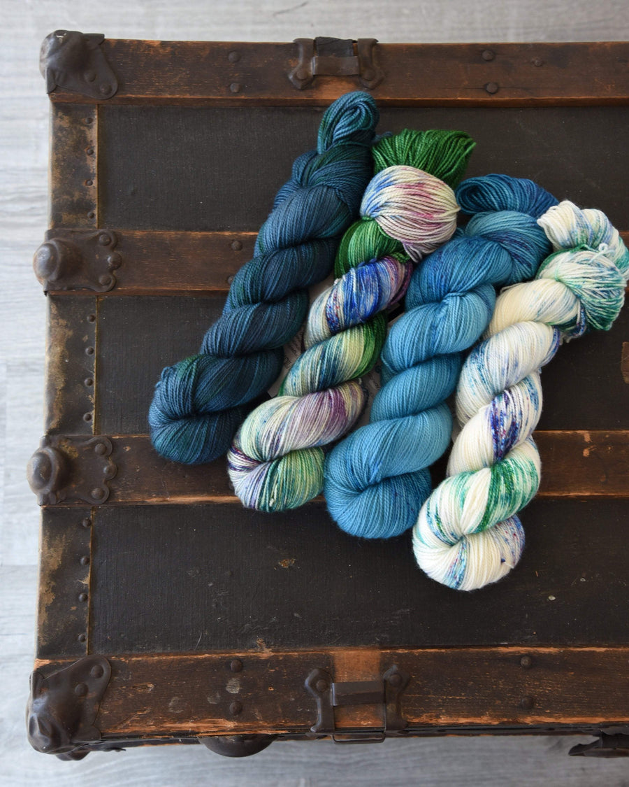 Destination Yarn fingering weight yarn NEIGHBORHOOD POOL