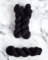Destination Yarn fingering weight yarn Noir - dyed to order