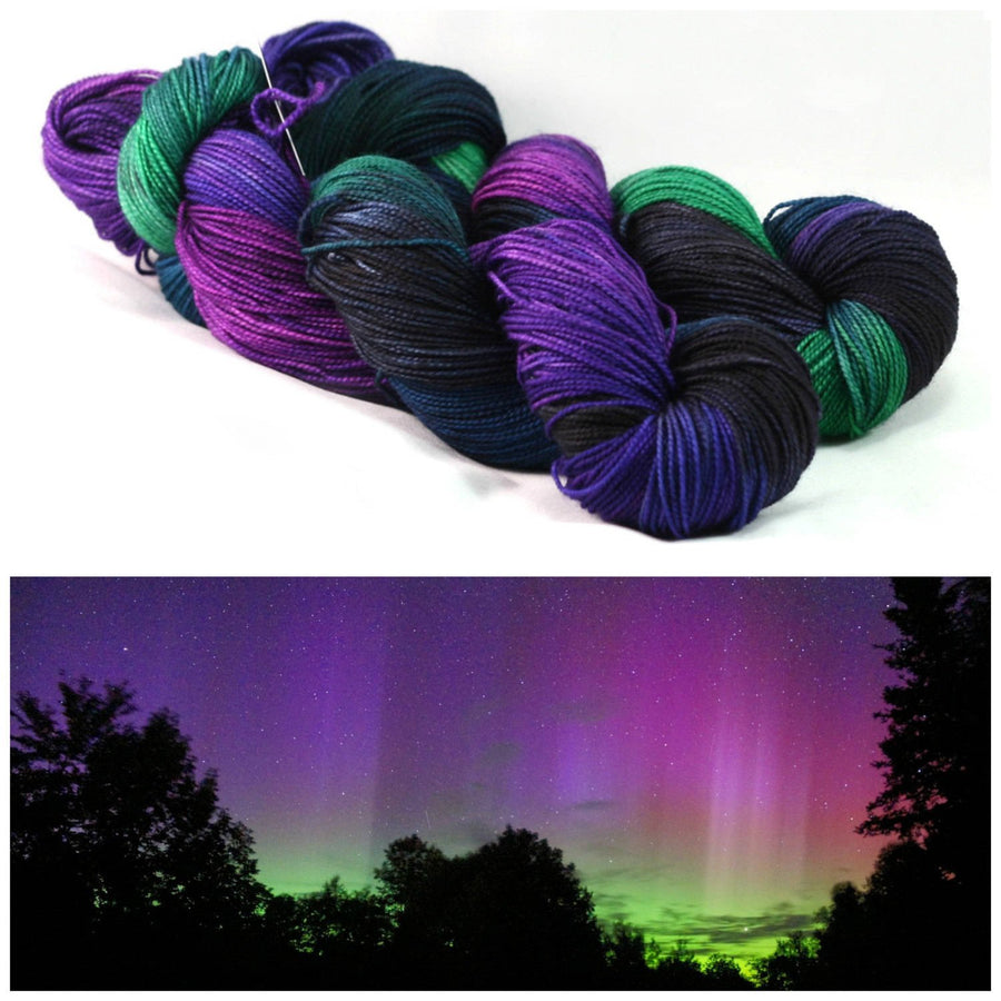 Destination Yarn fingering weight yarn NORTHERN LIGHTS