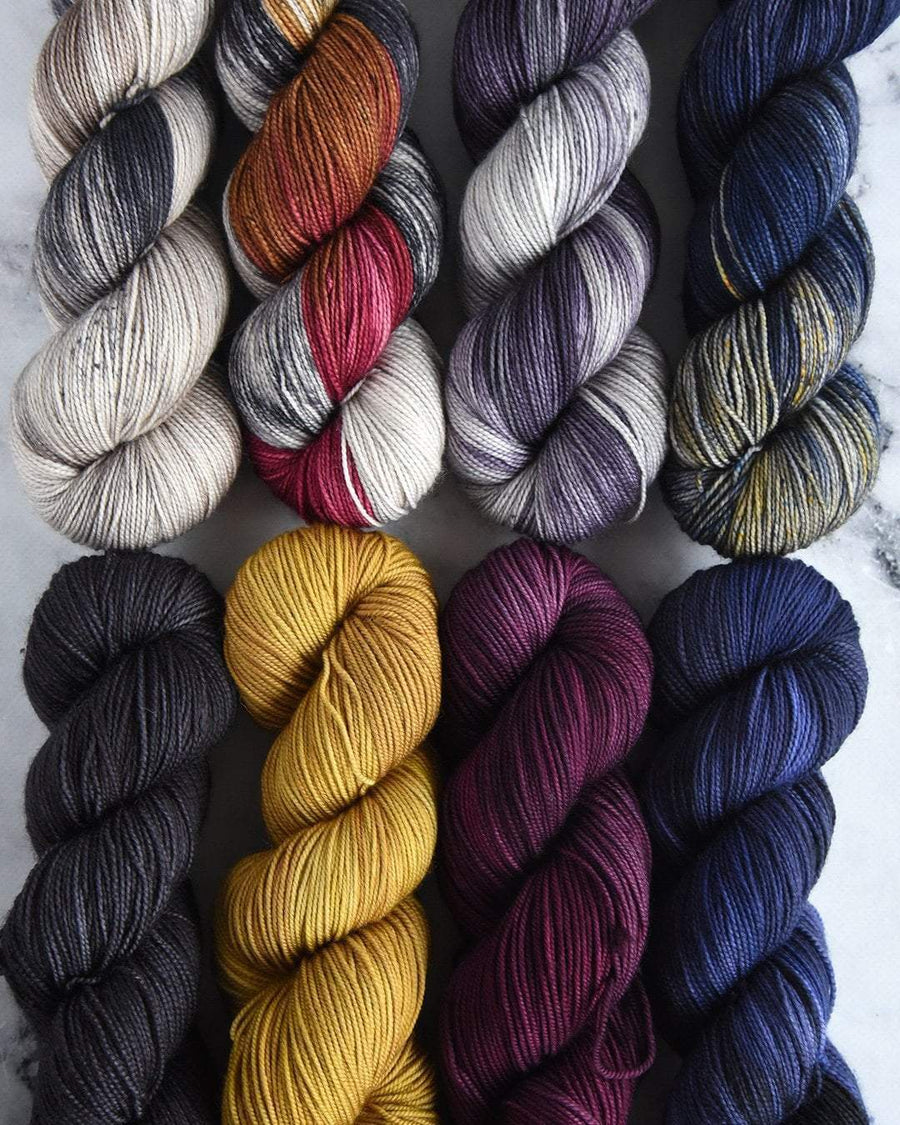 Destination Yarn fingering weight yarn Paris Collection - FULL SKEIN SET