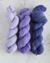 Destination Yarn fingering weight yarn Passport Jacaranda Tree - Mini Skein Set