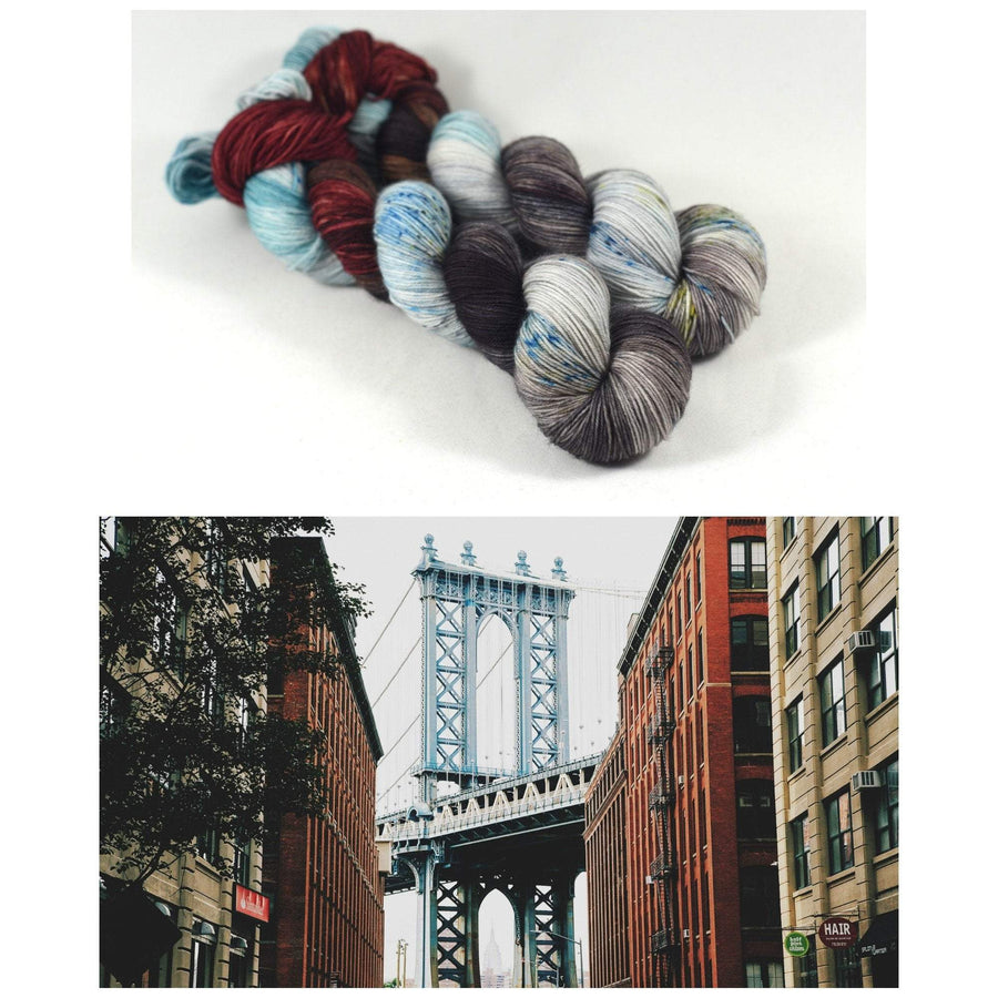 Destination Yarn fingering weight yarn Postcard (Fingering Weight) Brooklyn