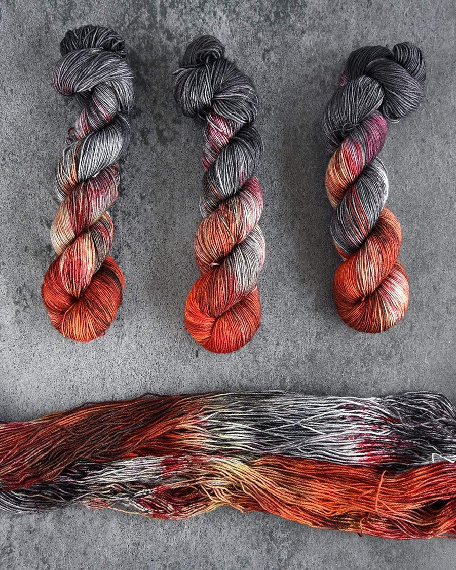 Destination Yarn fingering weight yarn Postcard (fingering weight) Daenerys Targaryen Set - Dyed to Order