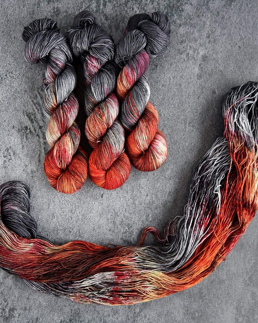 Destination Yarn fingering weight yarn Postcard (fingering weight) Dany and John Set - dyed to order