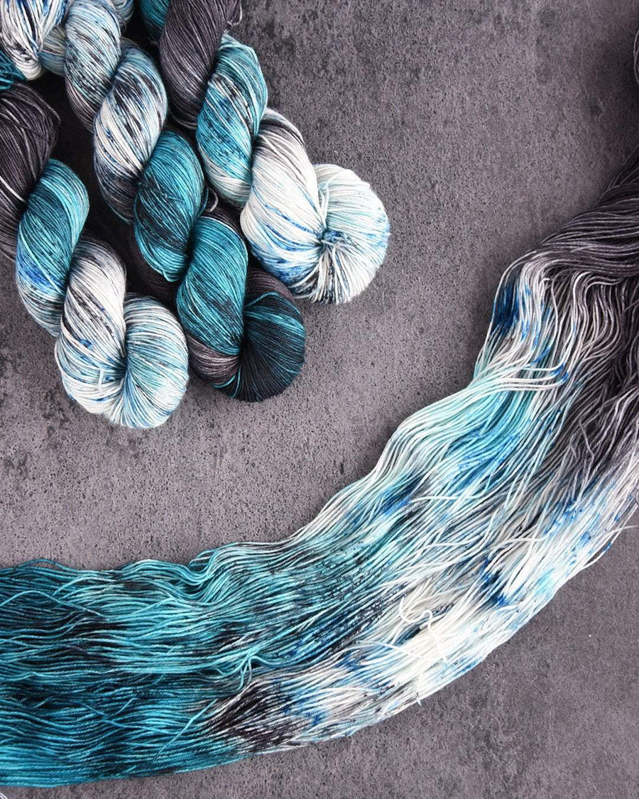 Destination Yarn fingering weight yarn Postcard (fingering weight) John Snow Set - Dyed to Order