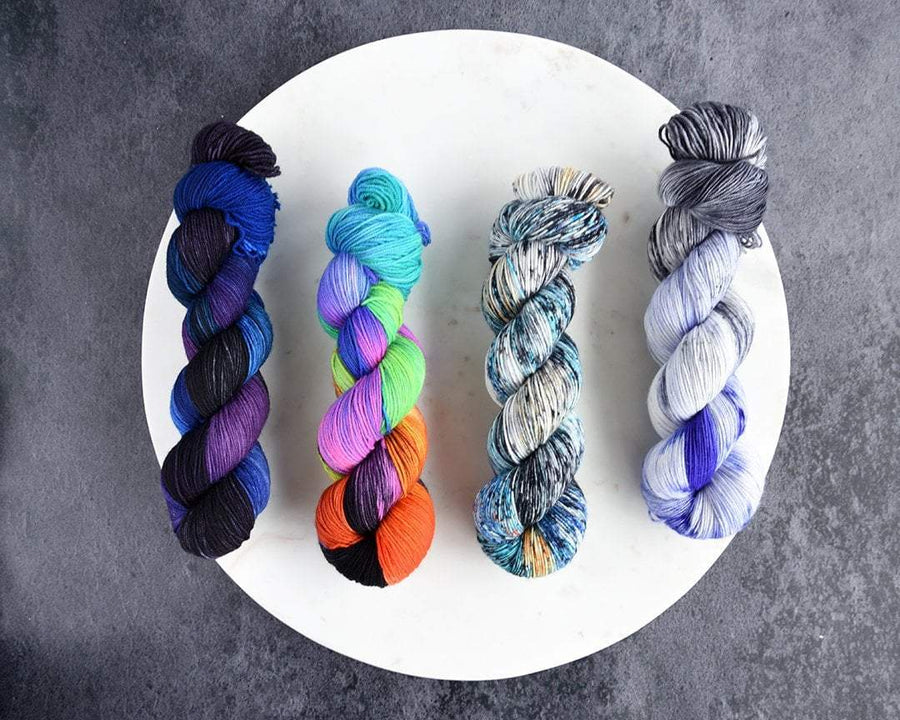 Destination Yarn fingering weight yarn Space Collection Full Skein Set - Dyed to Order