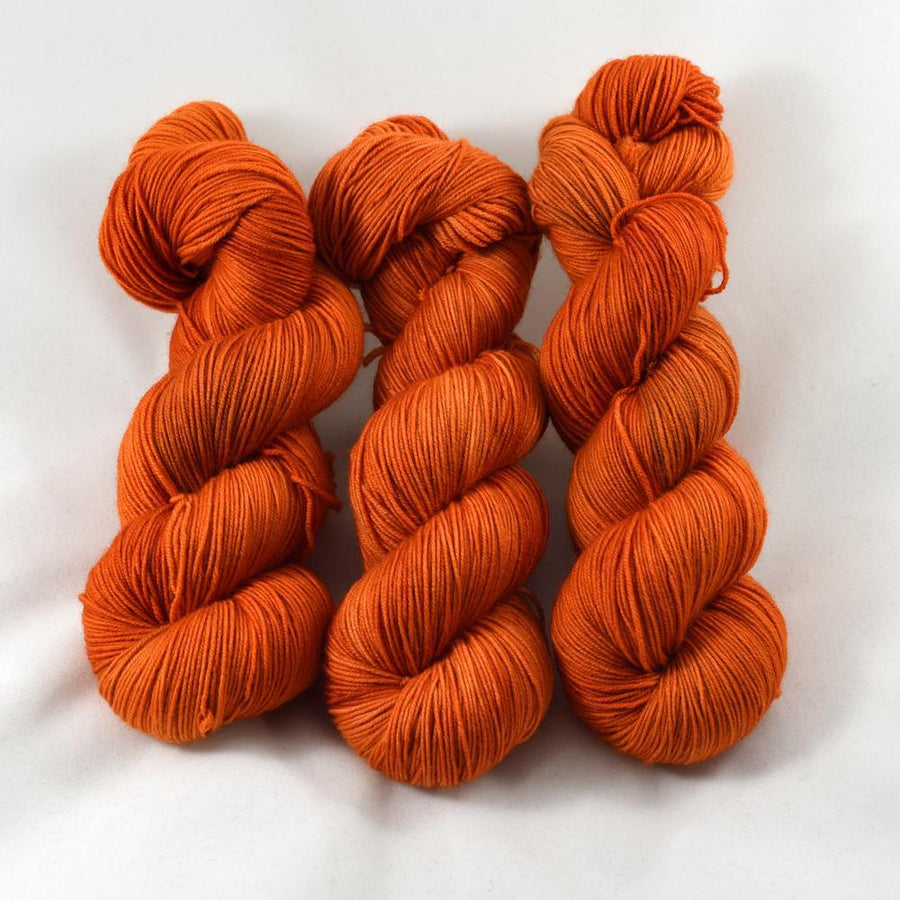Destination Yarn fingering weight yarn Spice