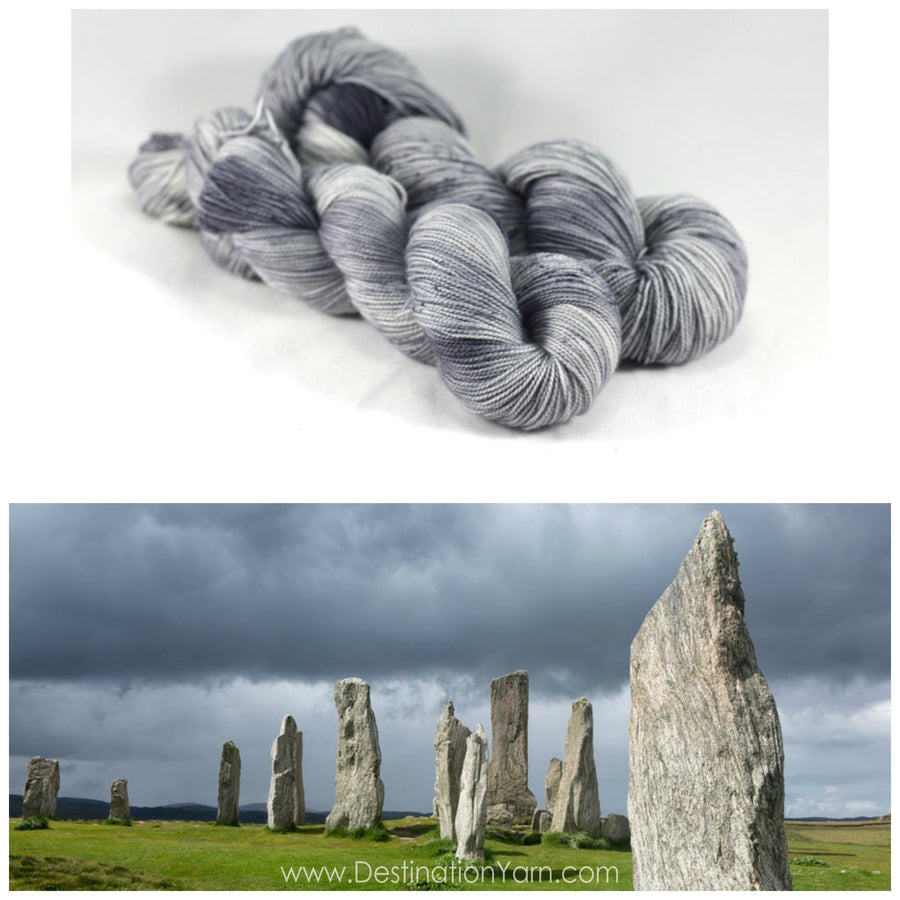 Destination Yarn fingering weight yarn STANDING STONES PREORDER