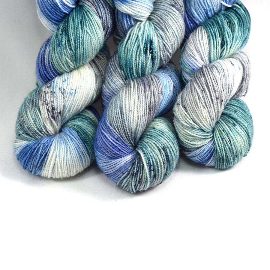Destination Yarn fingering weight yarn The Eyrie