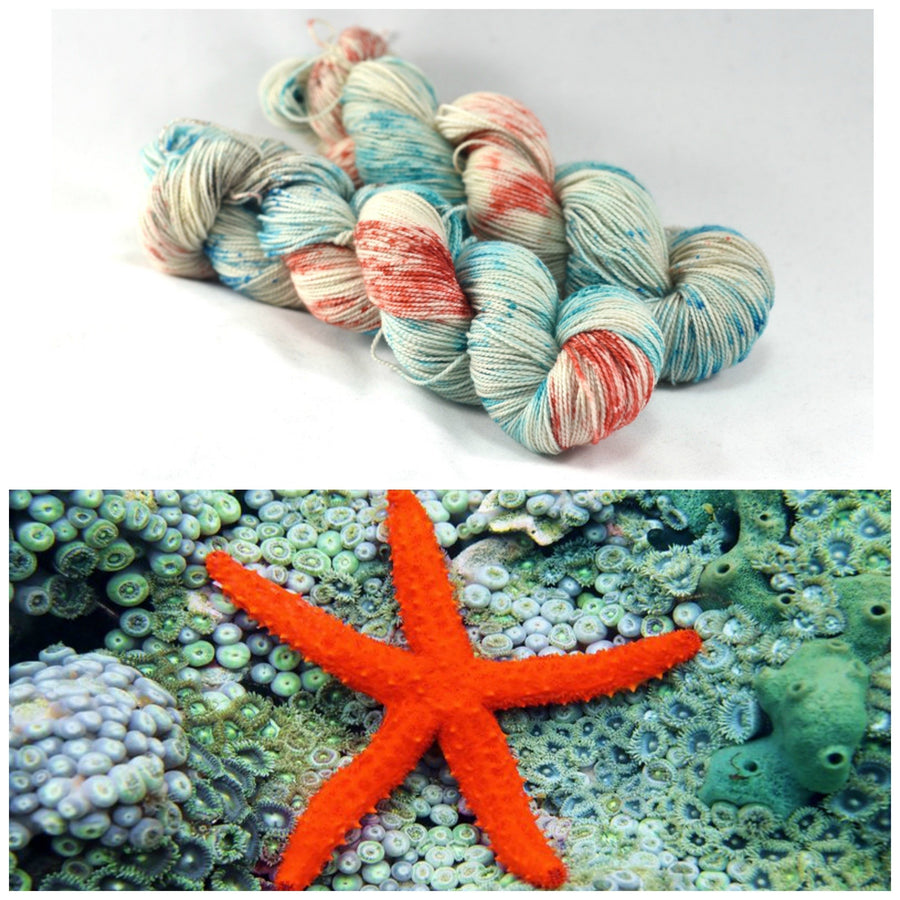 Destination Yarn fingering weight yarn TIDE POOL
