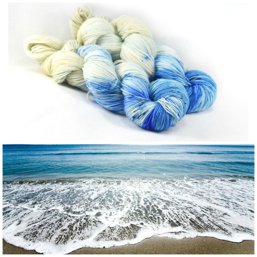Destination Yarn fingering weight yarn TOES IN THE SAND