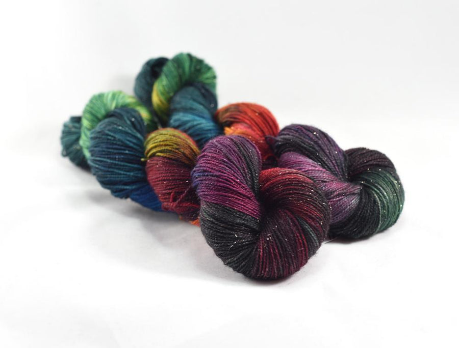 Destination Yarn fingering weight yarn Underneath the Christmas Tree - PREORDER
