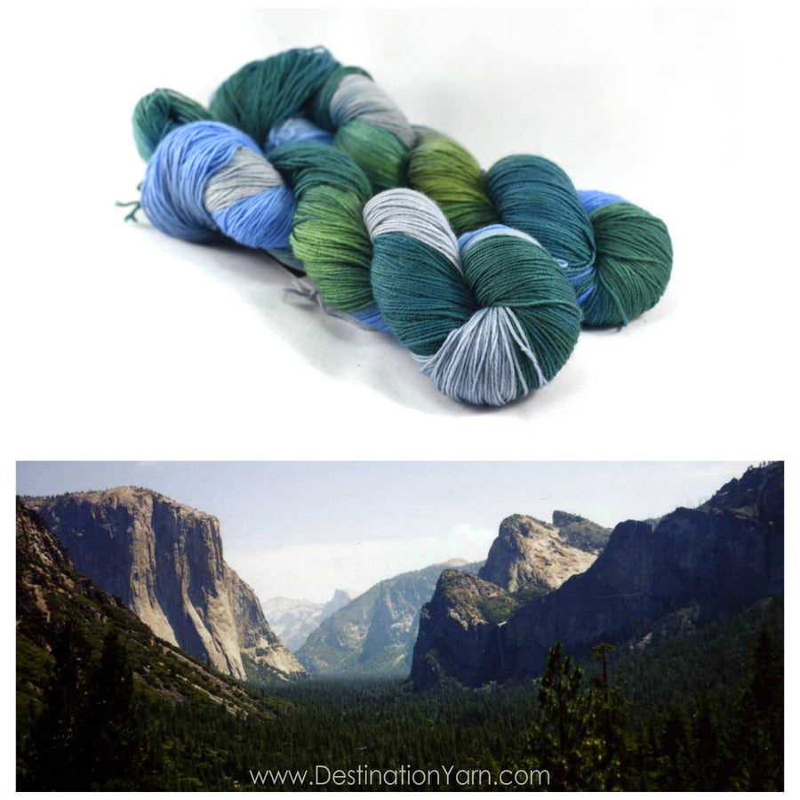 Destination Yarn fingering weight yarn YOSEMITE