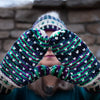 Destination Yarn Knitting Kit Arctic Sky Hat and Mitts Kit