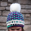Destination Yarn Knitting Kit Arctic Sky Hat and Mitts Kit - Northern Lights