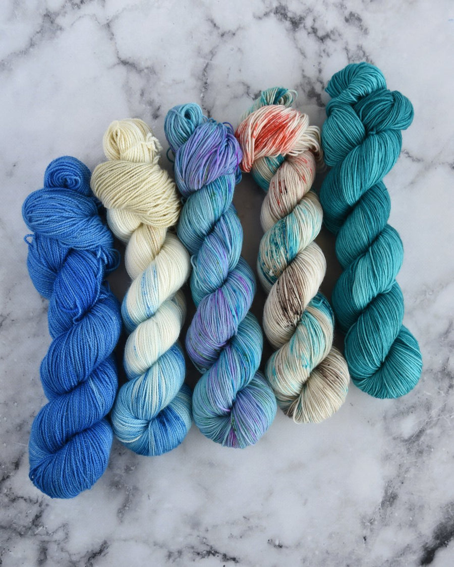 Destination Yarn Knitting Kit Beach Collection Full Skein Set