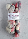 Destination Yarn Knitting Kit Birds of a Feather Shawl Kit - Mohair and Cashmere