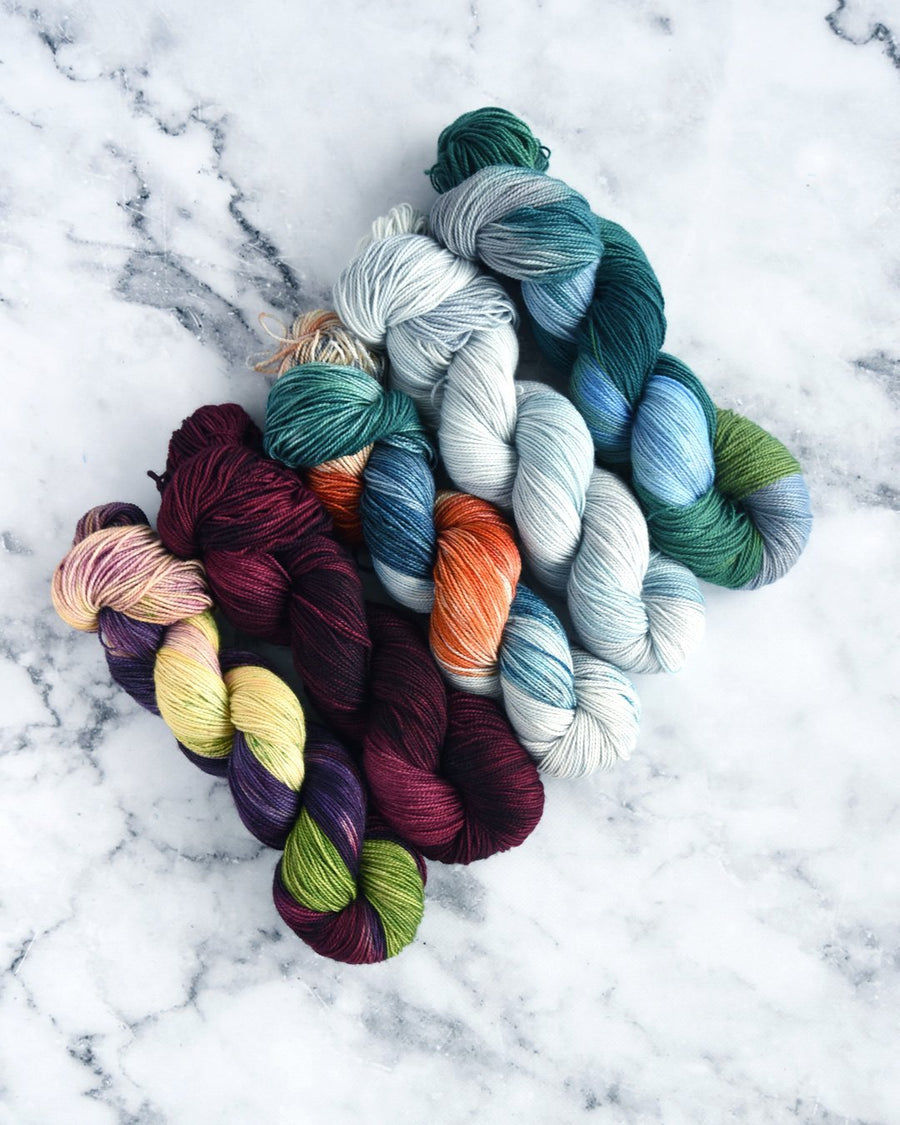 Destination Yarn Knitting Kit Central California Collection - MINI SKEIN SET