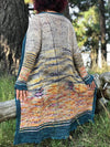 Destination Yarn Knitting Kit Journey Home Cardigan Kit