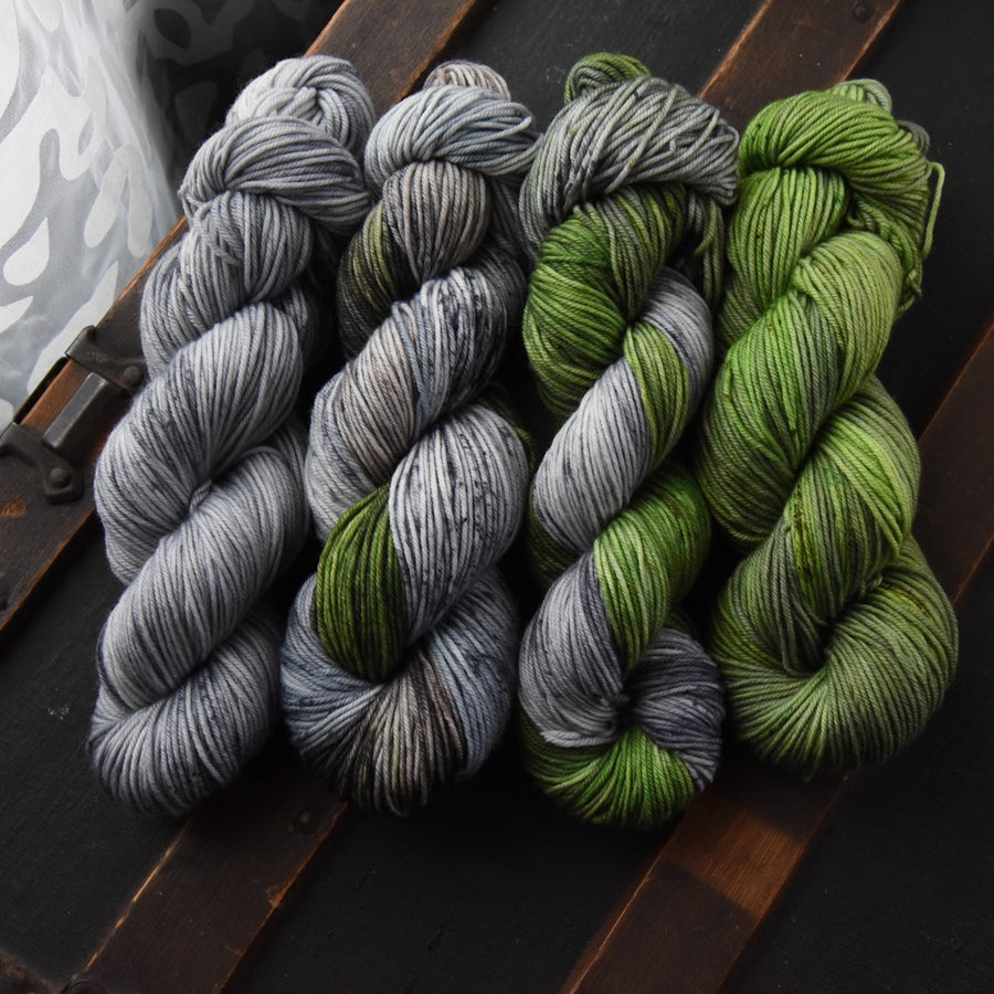 Destination Yarn Knitting Kit SCOTLAND FADE KIT PREORDER