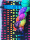 Destination Yarn Knitting Kit Space Invaders Set